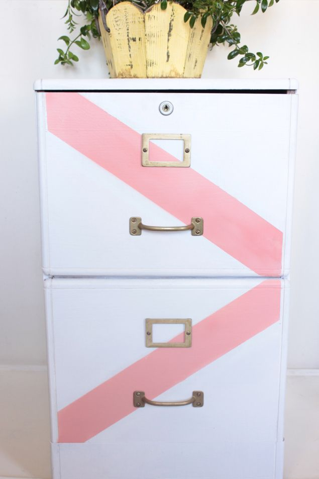 File Cabinet Makeover — Spontaneously Creative