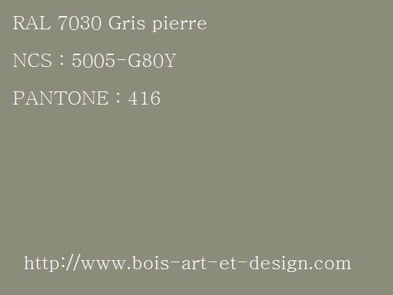 ral 7030 gris 564 423 codes ral codes ncs. Black Bedroom Furniture Sets. Home Design Ideas