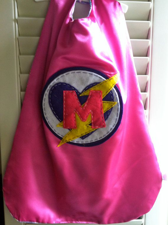 Pink Superhero Cape -Perfect Birthday Gift-PERSONALIZE
