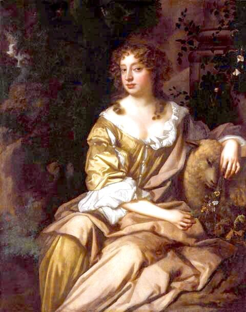 """Eleanor """"Nell"""" Gwyn (2 February 1650 – 14 November 1687) was a long-time mistress of King Charles II of England & Scotland. Called """"pretty, witty Nell"""" by Samuel Pepys, she has been regarded as a living embodiment of the spirit of Restoration England and has come to be considered a folk heroine, with a story echoing the rags-to-royalty tale of Cinderella. She was the most famous Restoration actress & possessed a prodigious comic talent. Gwyn had two sons by King Charles: Charles Beauclerk…"""