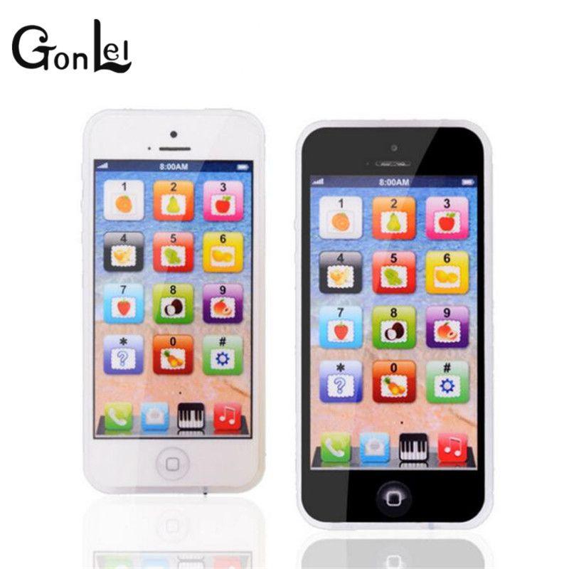 Gonlei Bébé Yphone Mobile Téléphone Jouet éducatif Pour Enfants