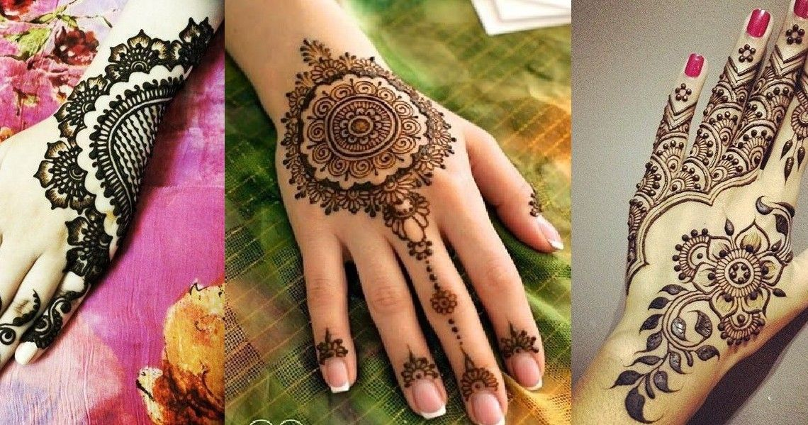 Mehndi Designs Hands And Feet : Marwari mehndi designs for hands and feet
