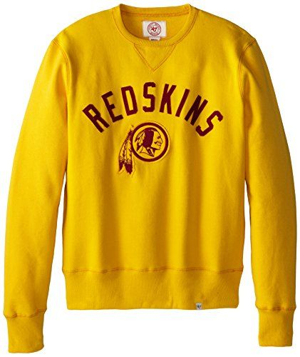 7c127171 NFL Washington Redskins Men's '47 Brand Cross-Check Crew Neck ...