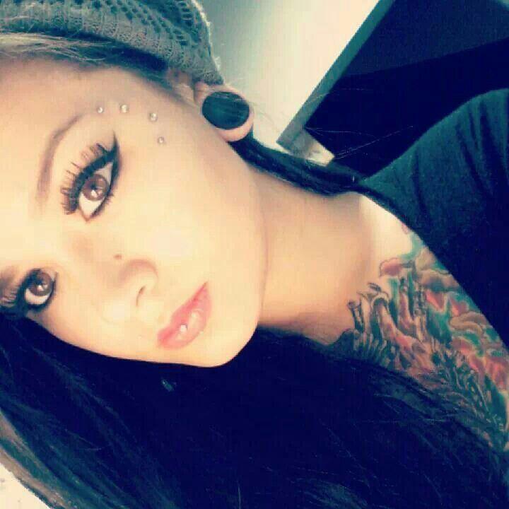 Subdermals Face Piercings Facial Piercings