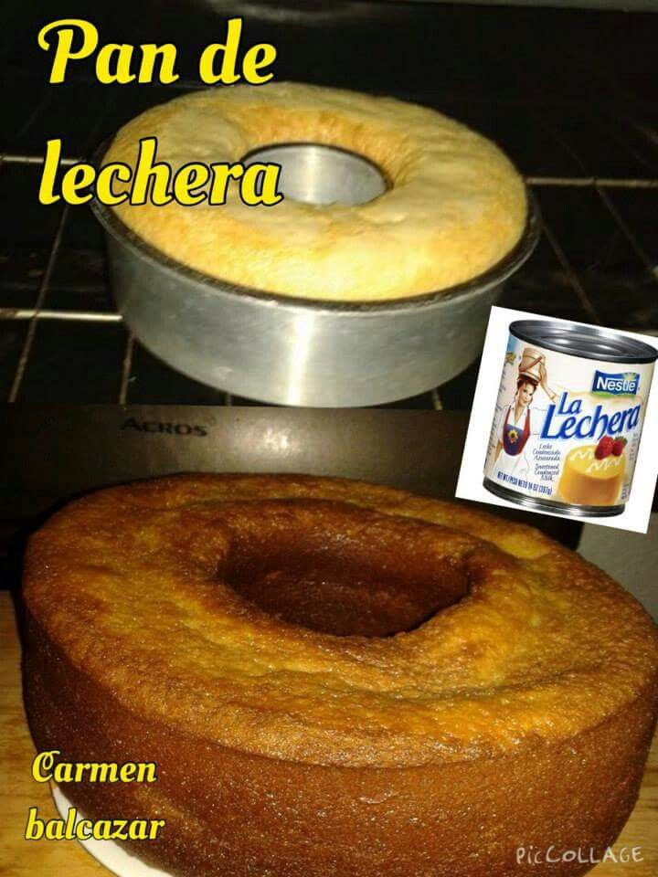 Pan De Lechera 1 Lechera 2 Tazas De Harina Cernida 4 Huevos 2