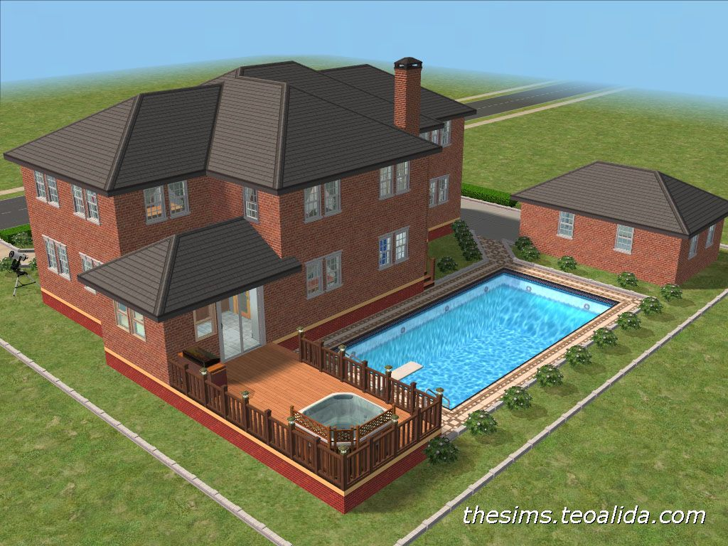 Superb Sims 2 House Plans 7 Concept Sims 2 House Cool House Designs House Plan Gallery