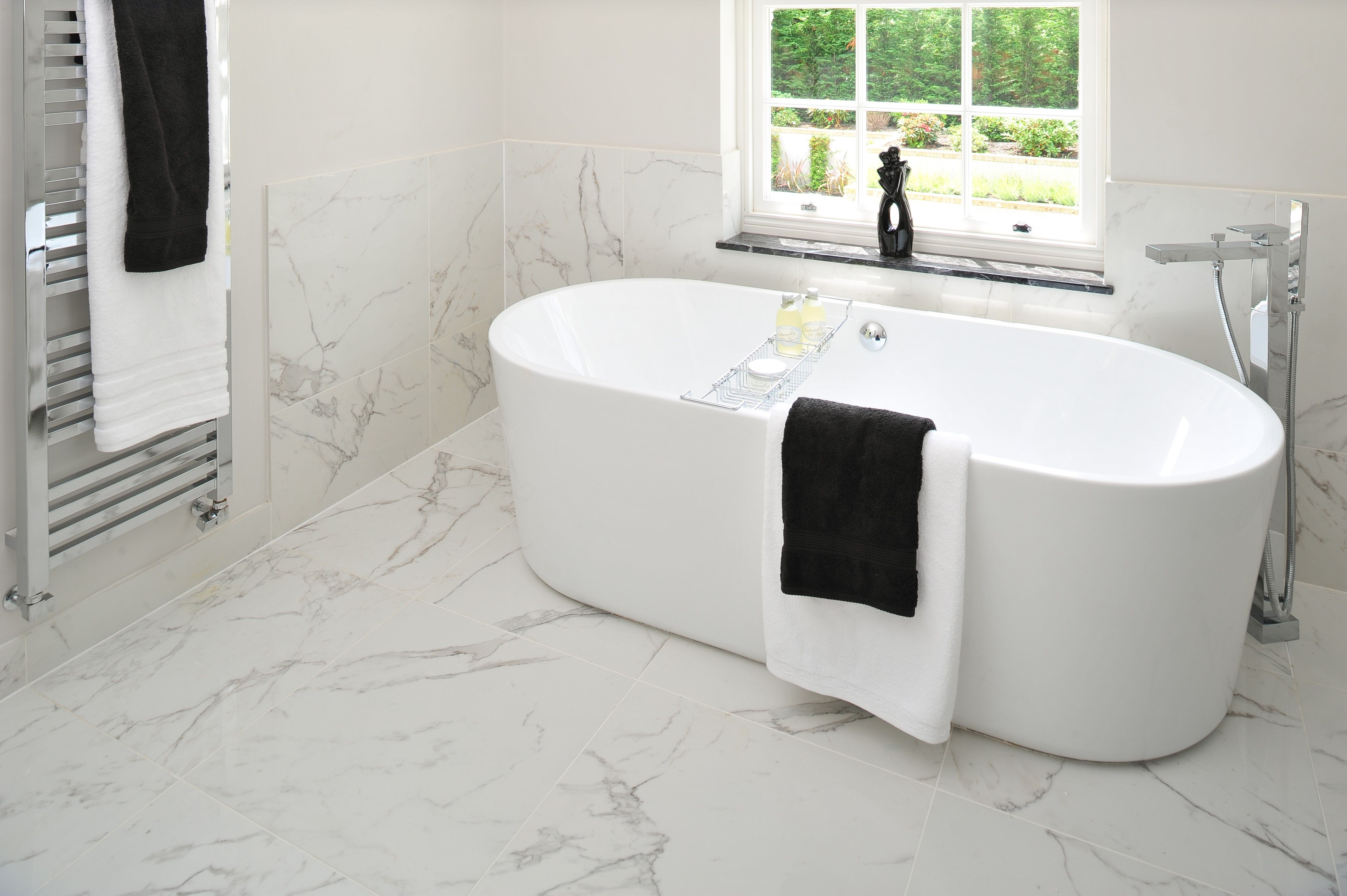 Atlas Marvel Calacatta Extra calacatta porcelain tile | classic bathroom, calacatta, tiles
