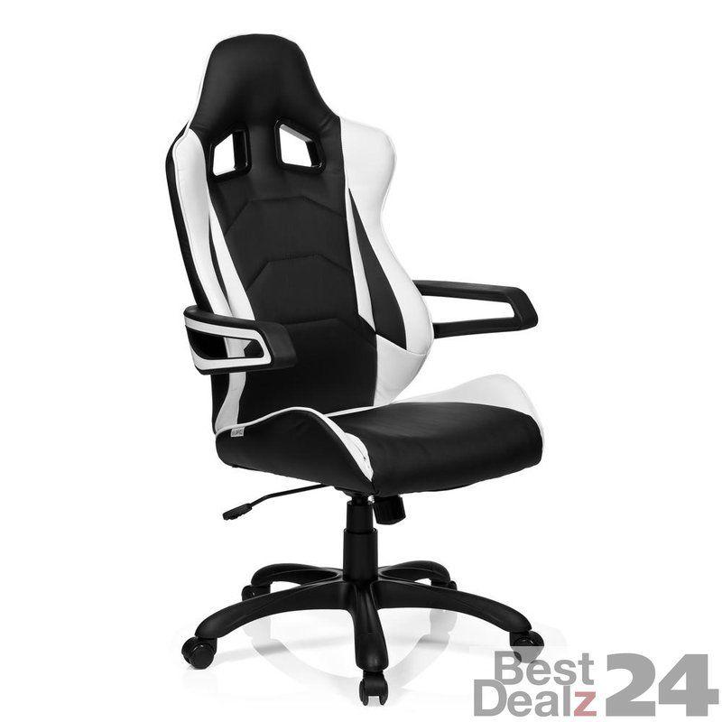 Gaming Stuhl Burostuhl Racer Pro I Kunstleder Schwarz Weiss Hjh Office Burostuhl Stuhle Sessel Rot