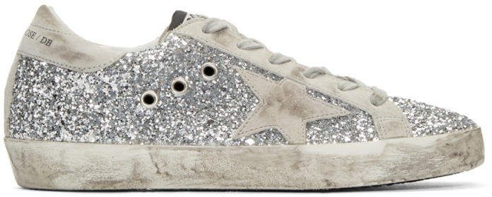adidas Originals SSENSE Exclusive Silver & Grey Superstar Sneakers 4KZCHFJuBp