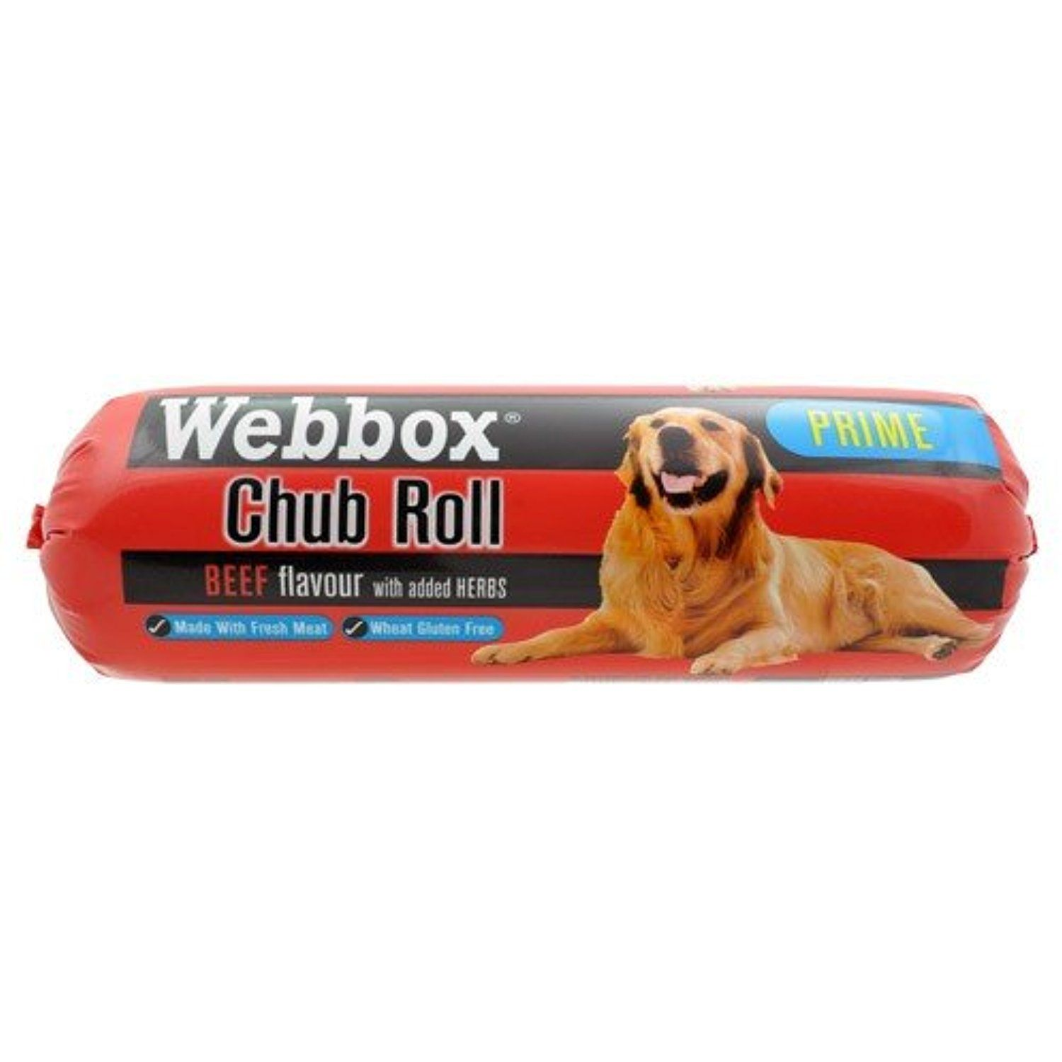 Webbox Chubs Beef 350g You can continue to the product