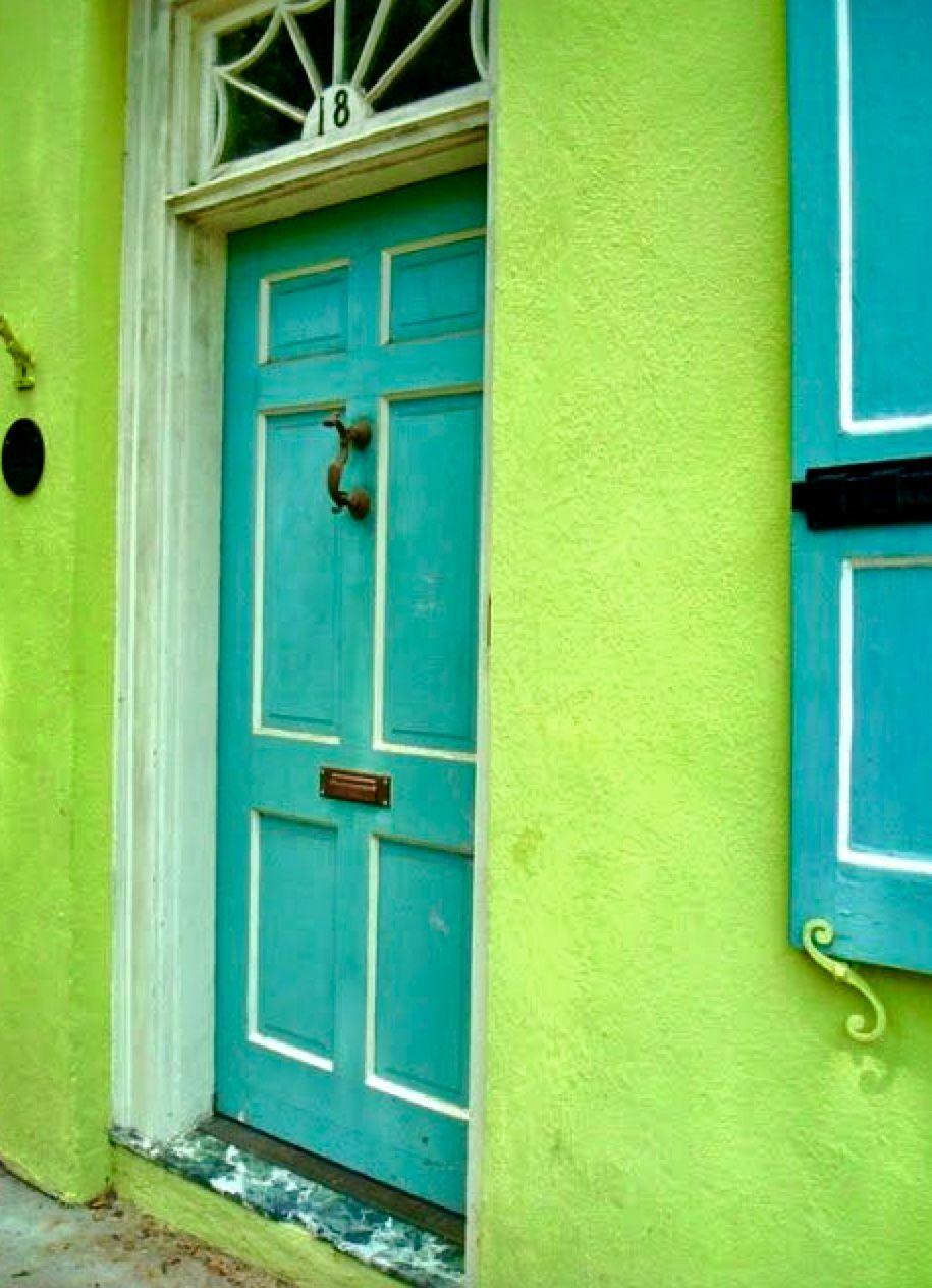 Color Duo Aqua & Chartreuse/Lemon image by Stormy