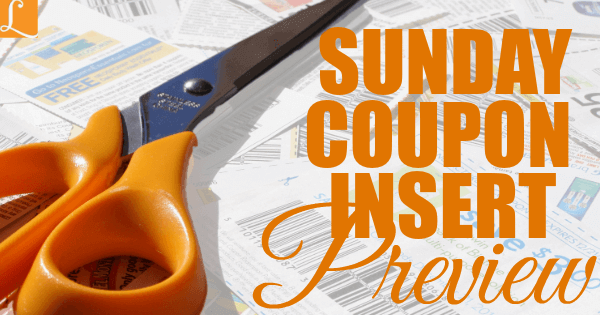 Sunday Coupon Preview Sunday Coupons Coupon Inserts Coupons