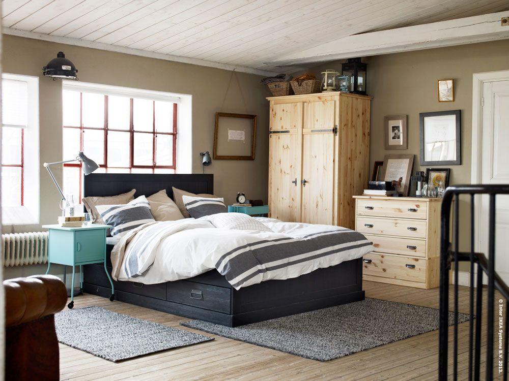 FJELL bed frame torp inredning Pinterest Inredning