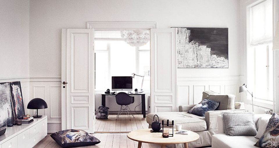 Stylish Danish Apartment Near Copenhagen Photographed By Heidi Lerkenfeldt    The Living Room