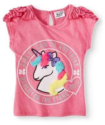 2018 Summer New Kids/' jojo siwa Pattern T Shirt Dress Nightwear Pyjamas Clothes