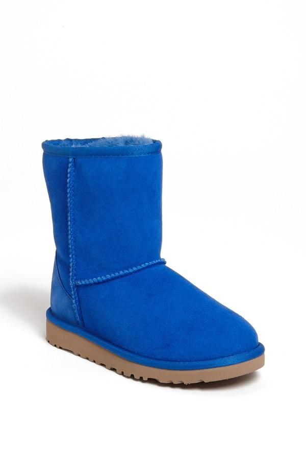 Bright, blue UGGs!