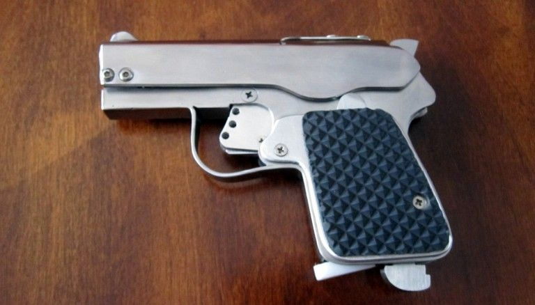 POTD: DIY Sheet Metal Self Loading Pistol -The Firearm Blog