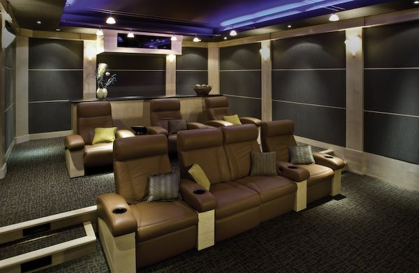 theater seating How to Choose the Perfect Home Theater Seating