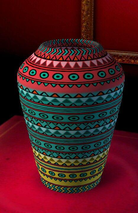 Beautiful Vase Art Deco