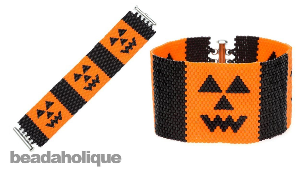 Instructions for Making the Jack-O-Lantern Peyote Kit with Size 11/0 Beads