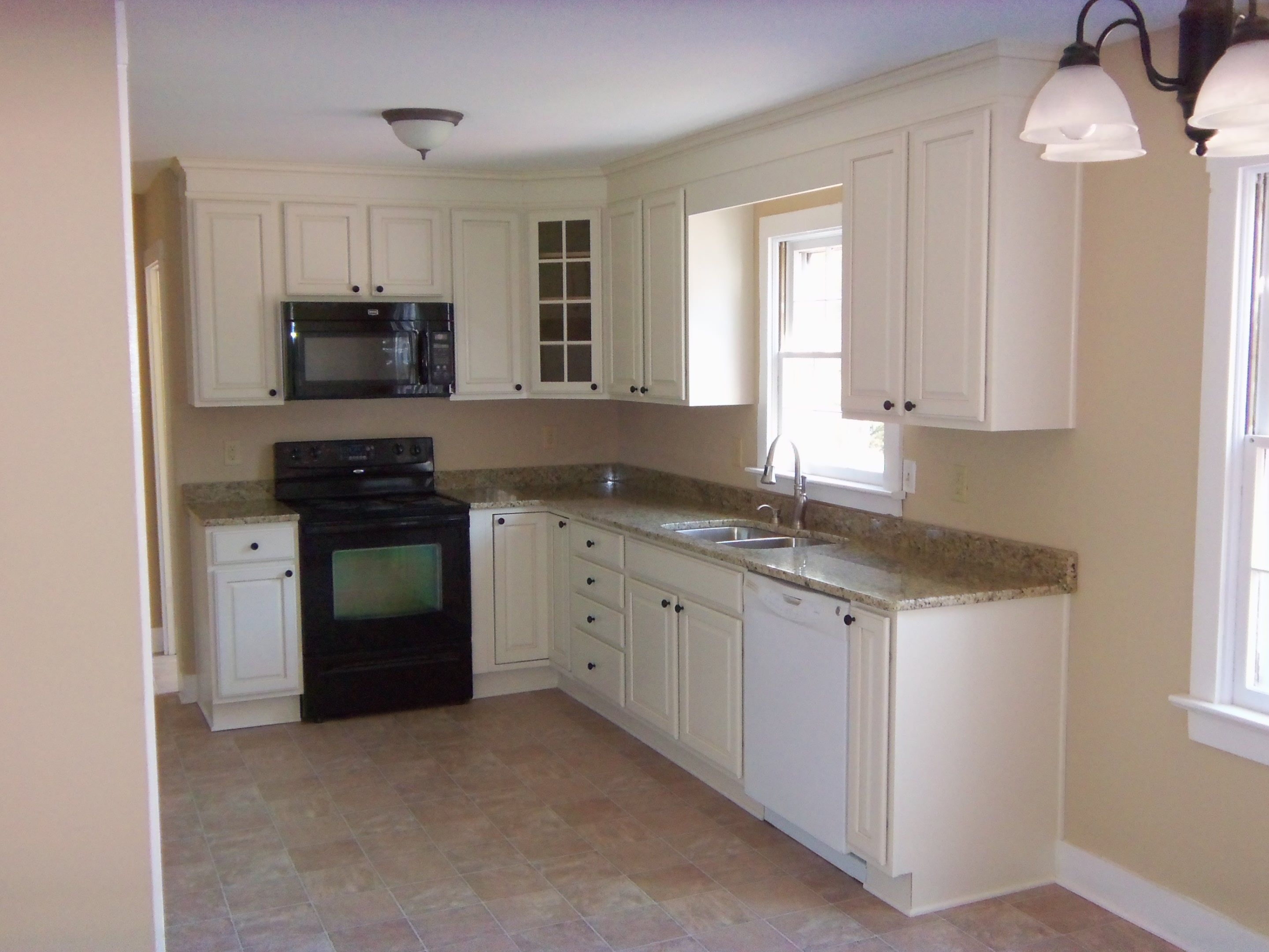 Simple Kitchen Remodel Very Small L Shaped Kitchen Small Updates To Total Kitchen