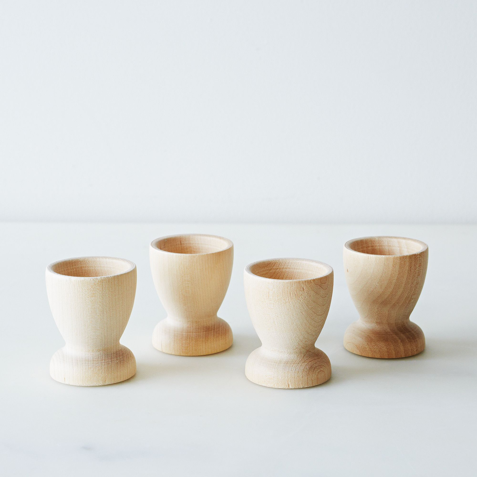 Easter Entertaining Essentials Wooden Egg Cups Perfect For