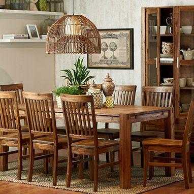 Comedor acacia mesas de comedor pinterest comedores - Mesas de madera hechas a mano ...