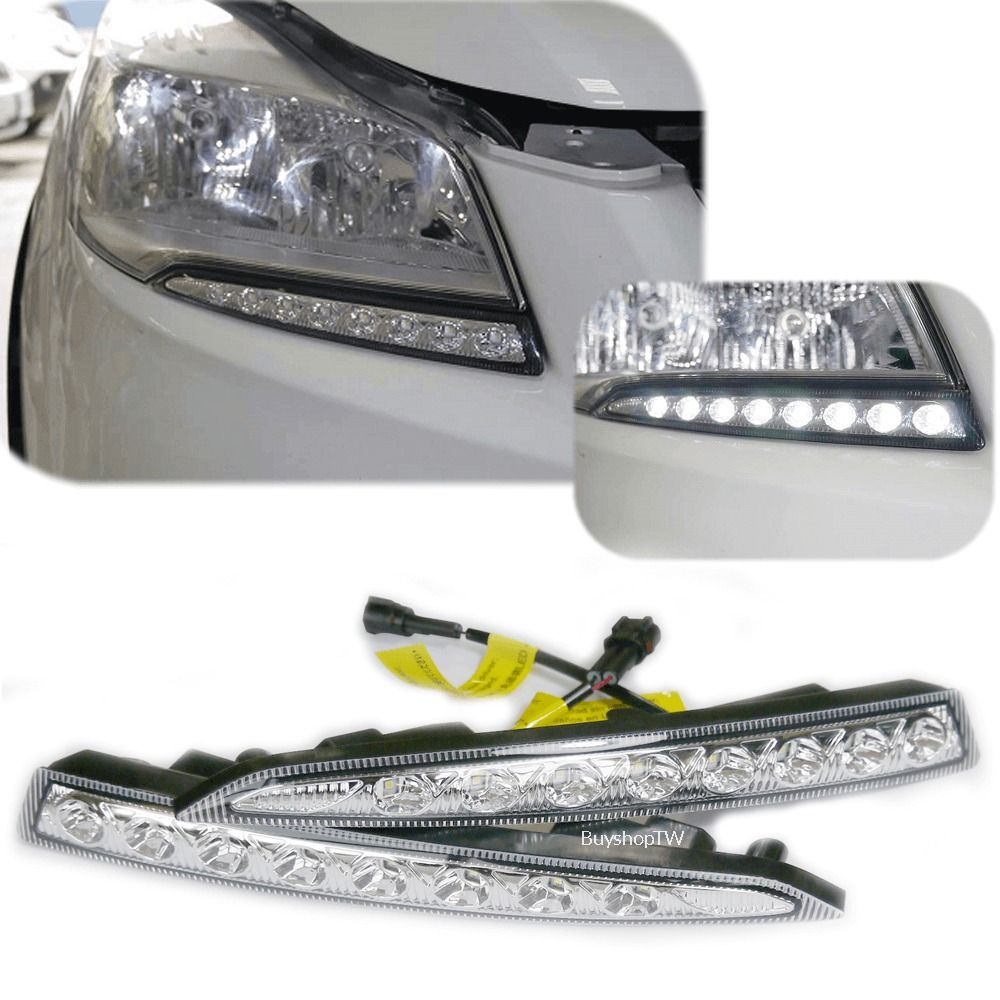 2013 2016 ford escape kuga led daytime running lights drl am [ 1000 x 1000 Pixel ]