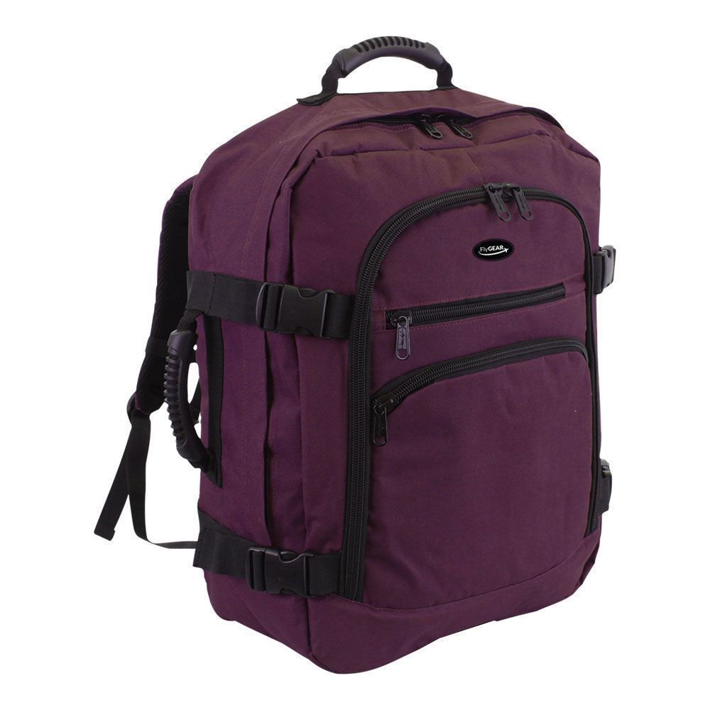 Cabin Backpack Hand Luggage Travel Camping Holdall 44 Litre Rucksack Bag  Purple… e48d9a83fa5eb
