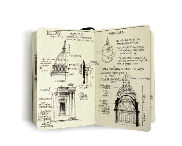Beau Classic Architecture Studies By Chema Pastrana, Via Behance