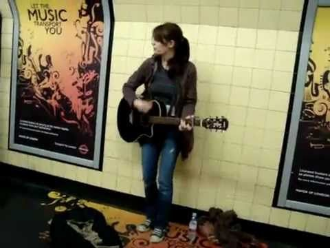Girl Singing Playing In Subway Station L Sheryl Crow All I Wanna Do Cover Singing Street Musician Music Covers