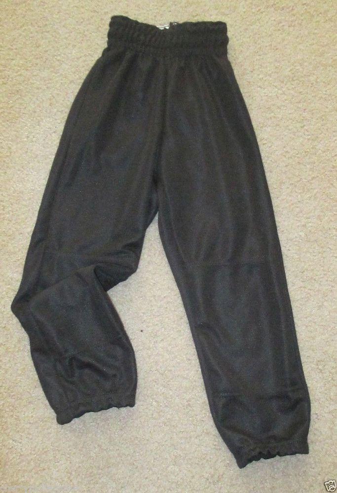 Wilson Youth Baseball Pants Size XS Black Long #Wilson