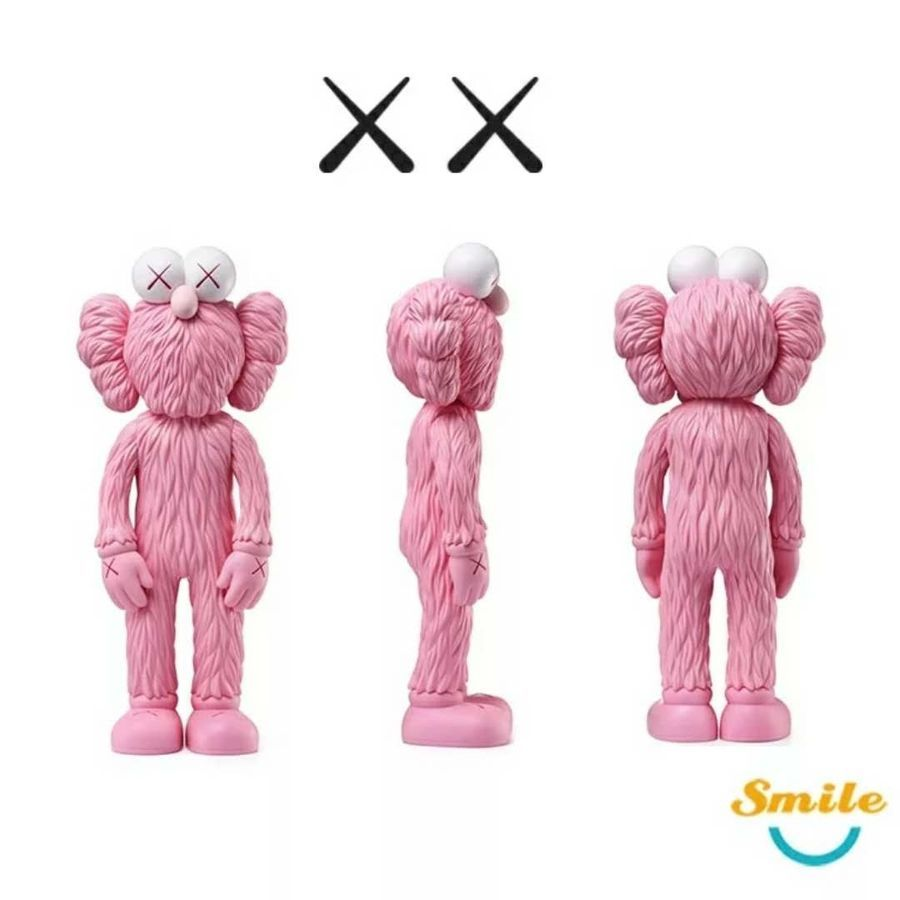 Kaws Thailand Bangkok Exhibition Sesame Street Kaws BFF PVC Doll Toy 30cm#