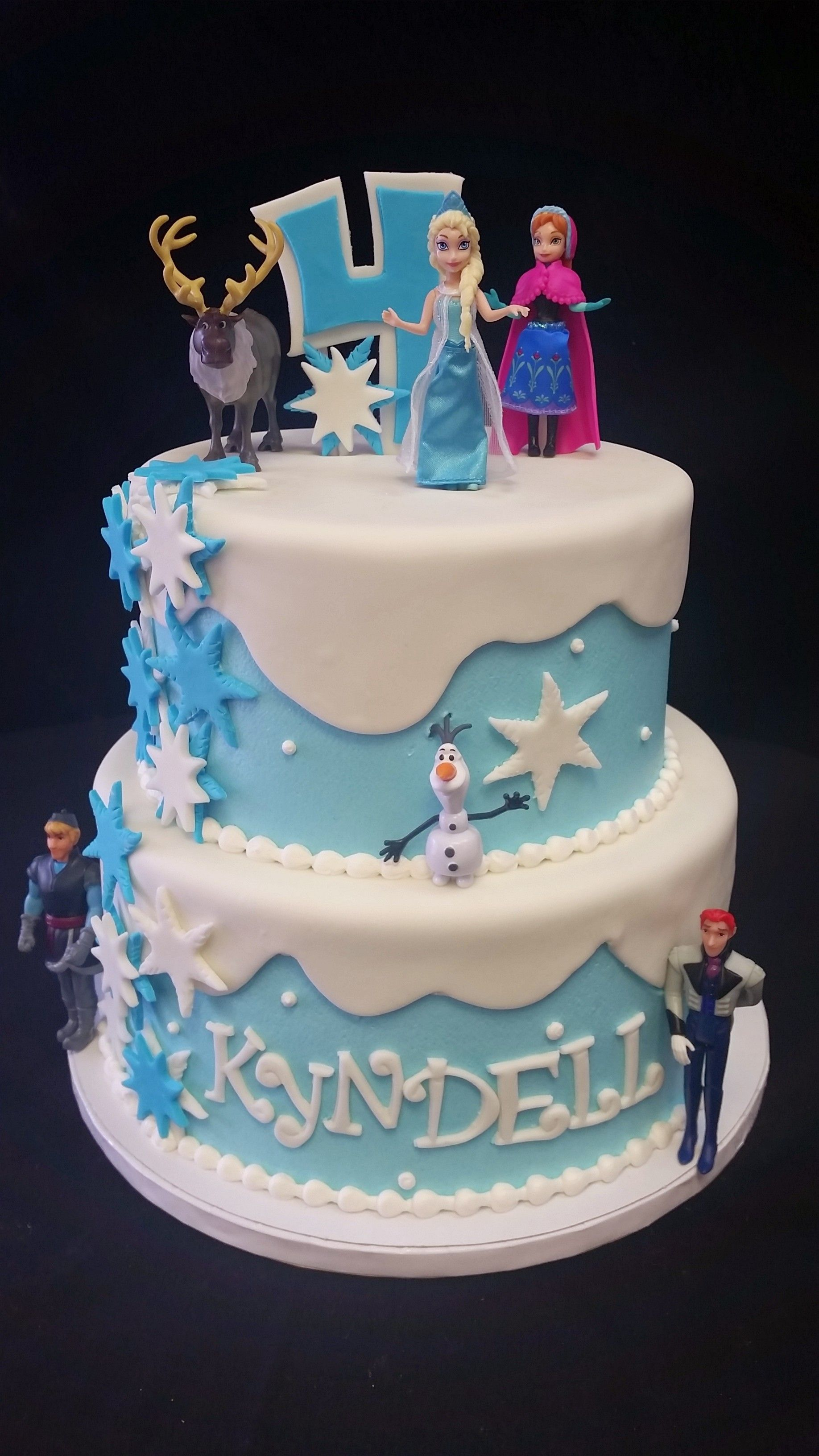 Cookie Jar Bakeshop I Frozen Birthday Cake I Elsa Olaf Ana I Cakes