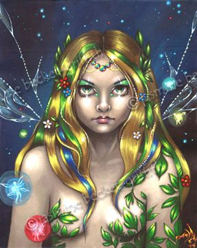 """Fairy Queen Titania""    by Jasmine Becket-Griffith"