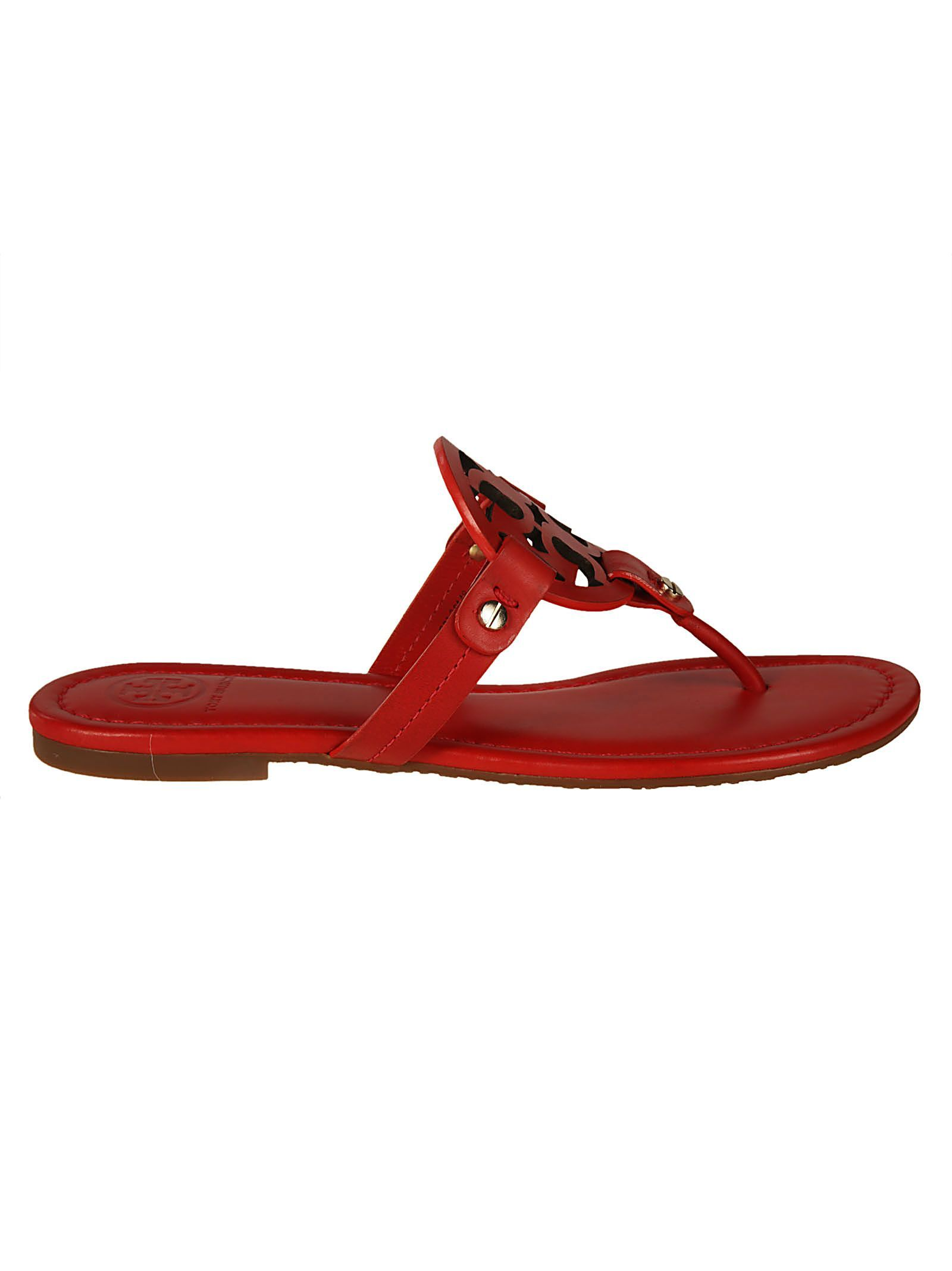 2c5f07cca2ca00 TORY BURCH MILLER FLAT SANDALS.  toryburch  shoes