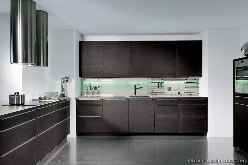 Pictures Of Kitchens Modern Dark Wood Kitchens Kitchen 17