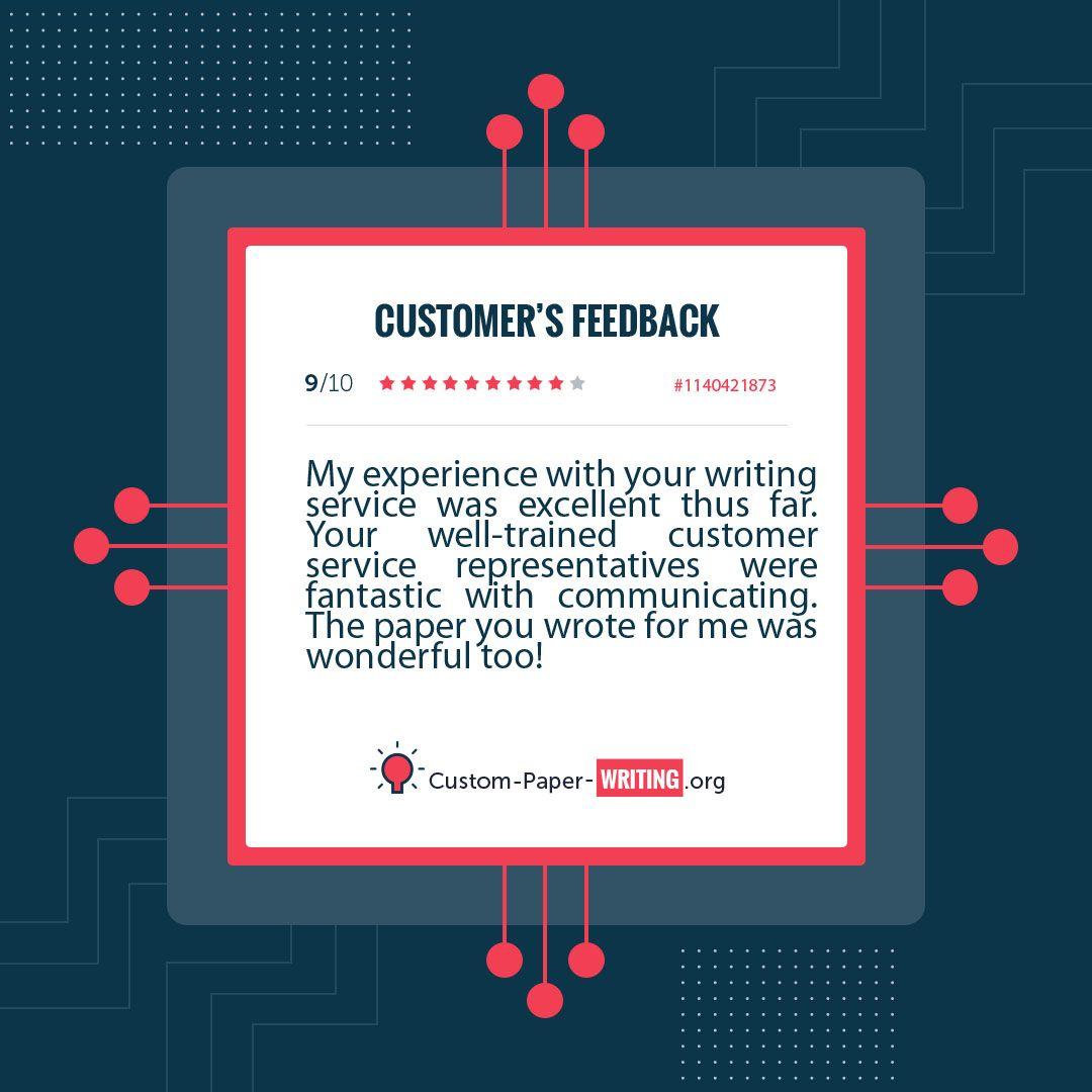 An essay on customer satisfaction
