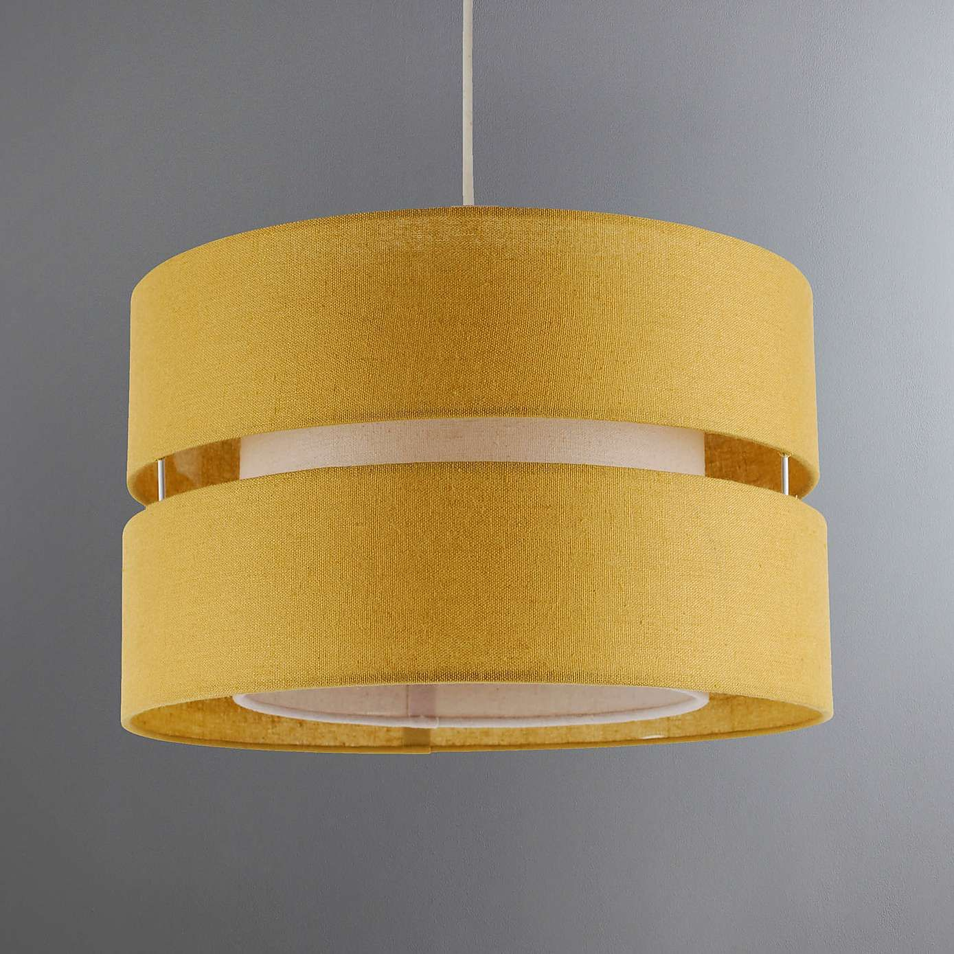 Modern 3 Tier Ceiling Pendant Cotton Lamp Shades Easy Fit Home Lounge Lighting