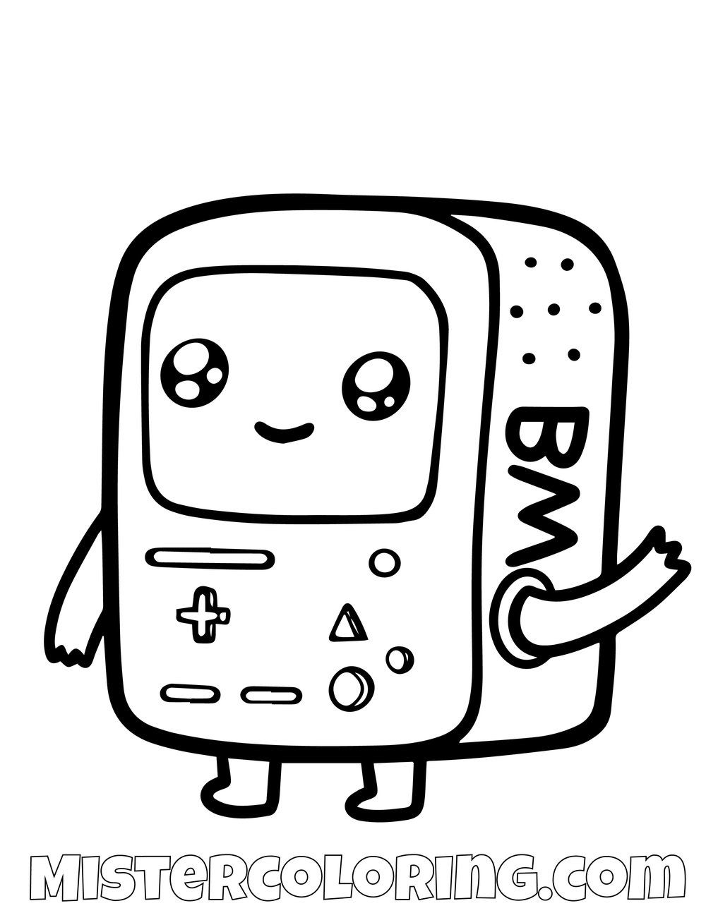 Baby Beemo Adventure Time Coloring Page Adventure Time Coloring Pages Designer Dresses Indian Adventure Time Drawings