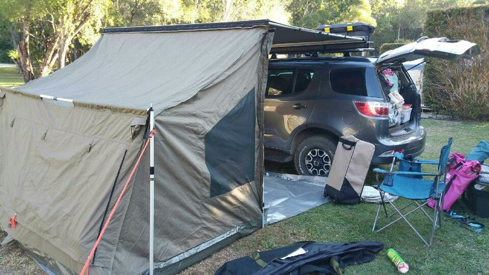 Rhino Rack Sunseeker Awning Tagalong Oz Tent
