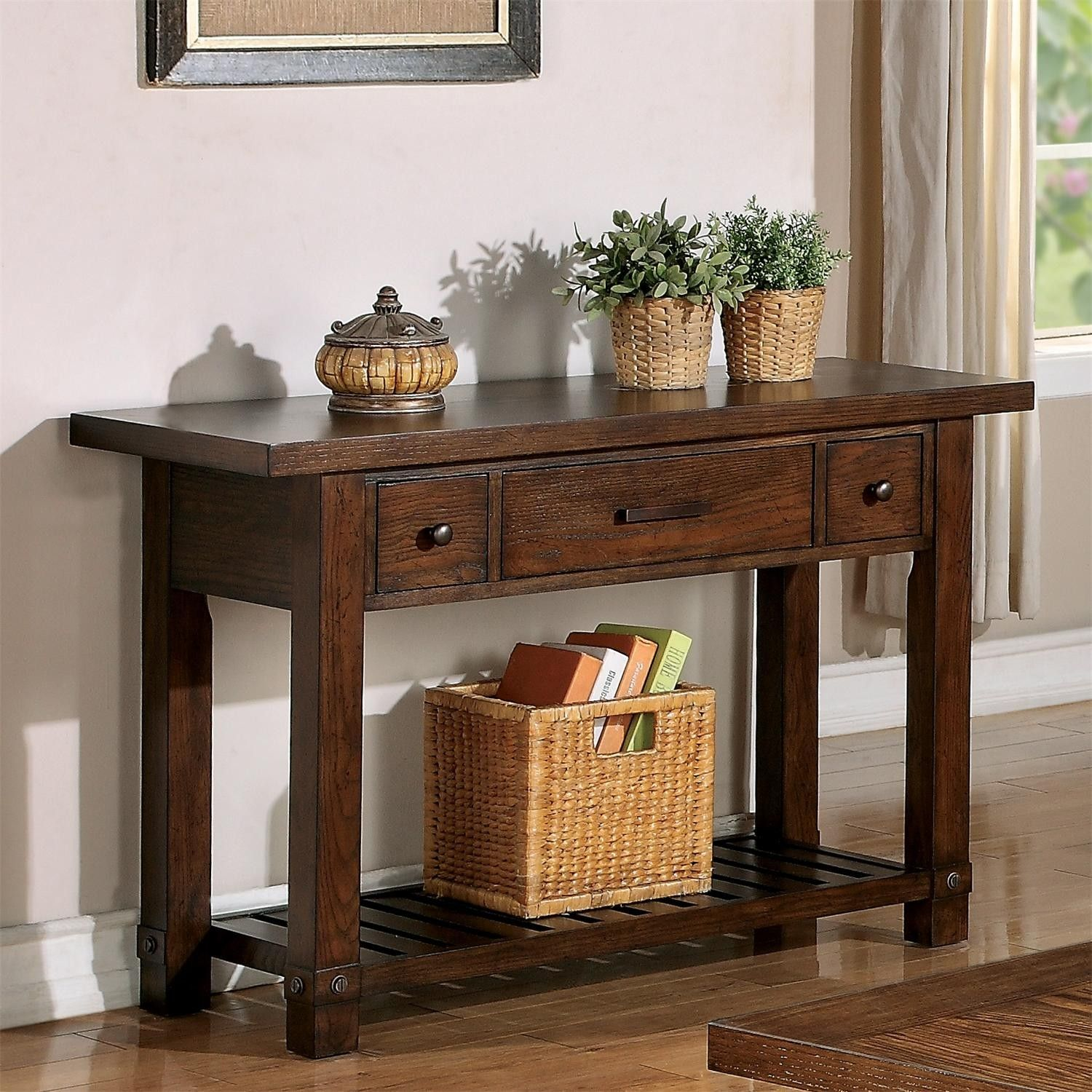 Riverside Furniture Windridge Console Table At Pottery Barn Entryway Table