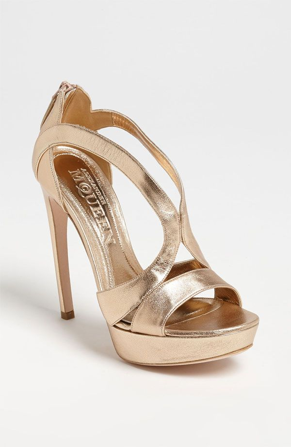 Need this Alexander McQueen Cutout Sandal from #nordstromweddings