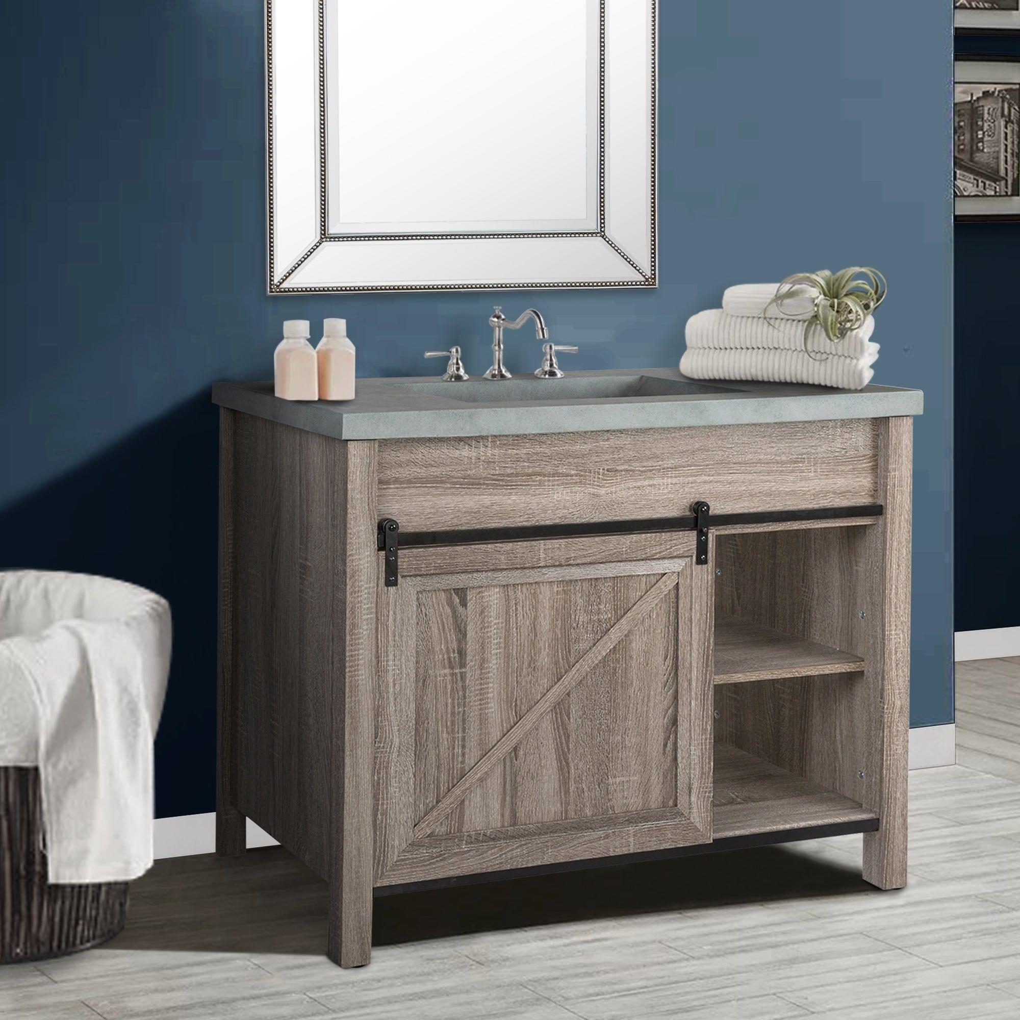 Overstock Com Online Shopping Bedding Furniture Electronics Jewelry Clothing More In 2021 Sliding Barn Door Bathroom Bathroom Redesign Vanity [ 2000 x 2000 Pixel ]