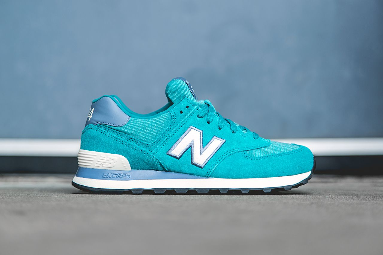 musical Santuario Duque  Women's New Balance 574 'Pennant' Teal - WISH BLOG | Teal sneakers, Blue  sneakers, New balance