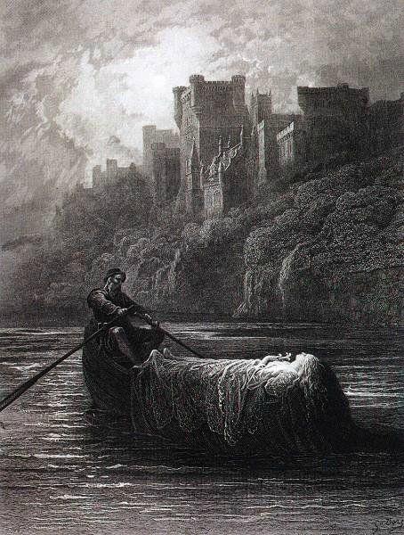 Gustave Doré (1832 - 1883). Elaine.