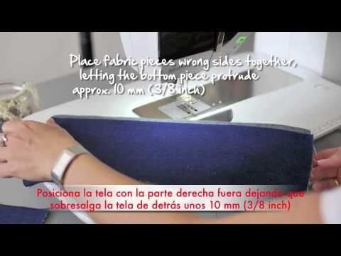 Tutorial del prensatelas nº 70 y 71 - YouTube