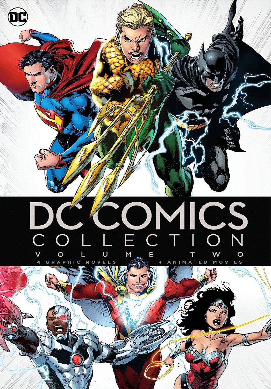 Dc comics collection volume two bluray set us warner