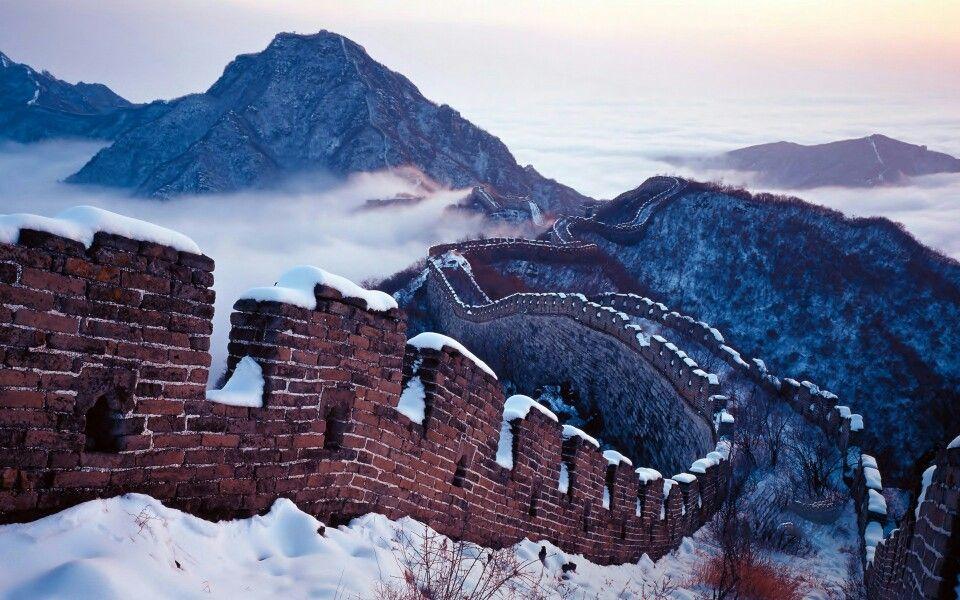 La construcción de la Gran Muralla de China comenzó en 220 aC y medidas a más de 13.000 millas de largo