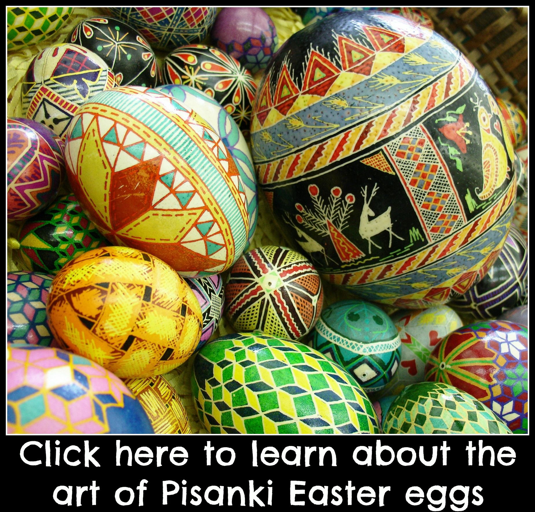 The Art of Pisanki Easter Eggs. Find out more here: LiveBetterByDesign.wordpress.com
